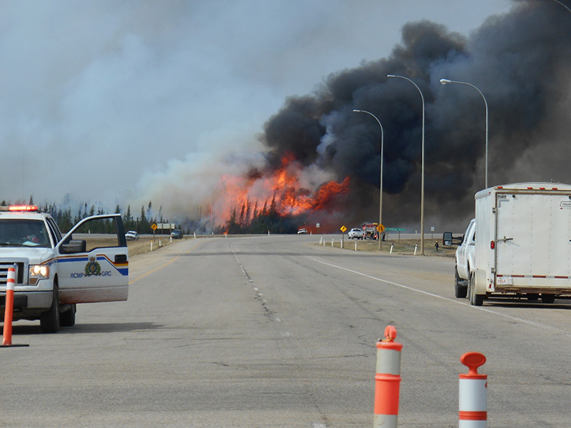 Plundering Wildfires Devastate Fort McMurray