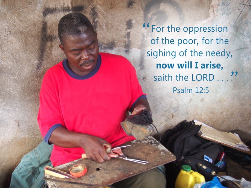 God Provides for a Paralyzed Shoemaker