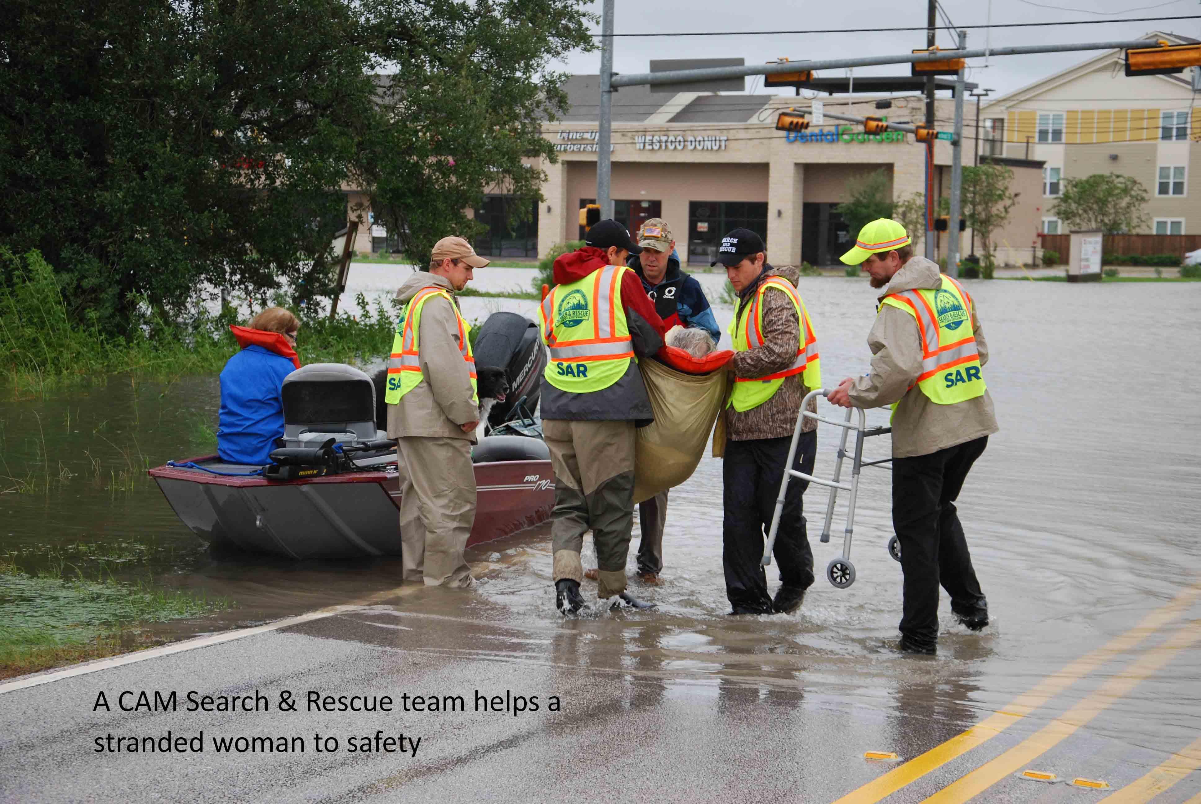 Historic Flooding Devastates Texas