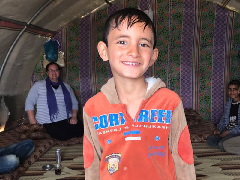 Medical Team Brings Hope to Iraqi Refugees
