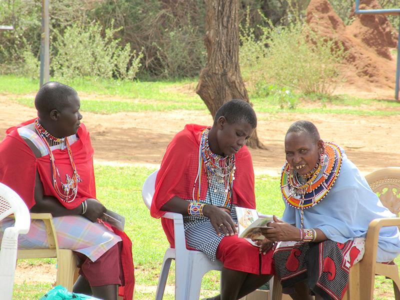Bringing Jesus to the Maasai