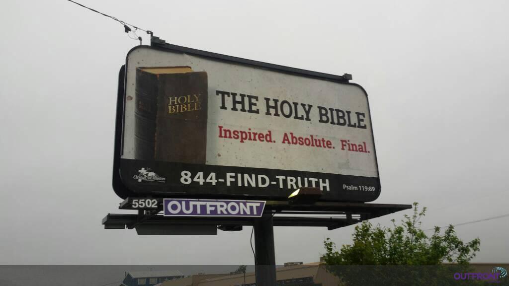 Billboard Evangelism, Canada