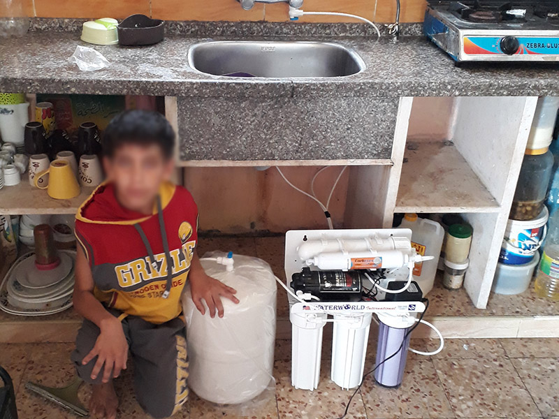 Safe Water for Needy Gazans