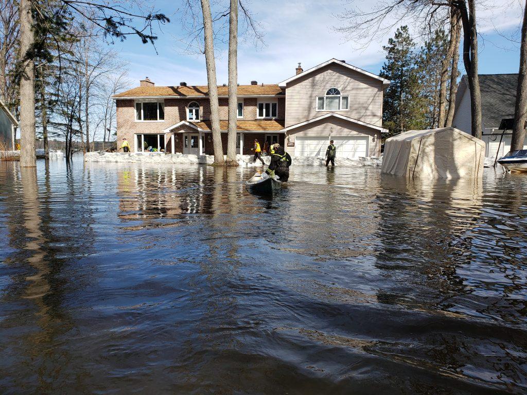 Floodwaters Devastate Eastern Canada – again
