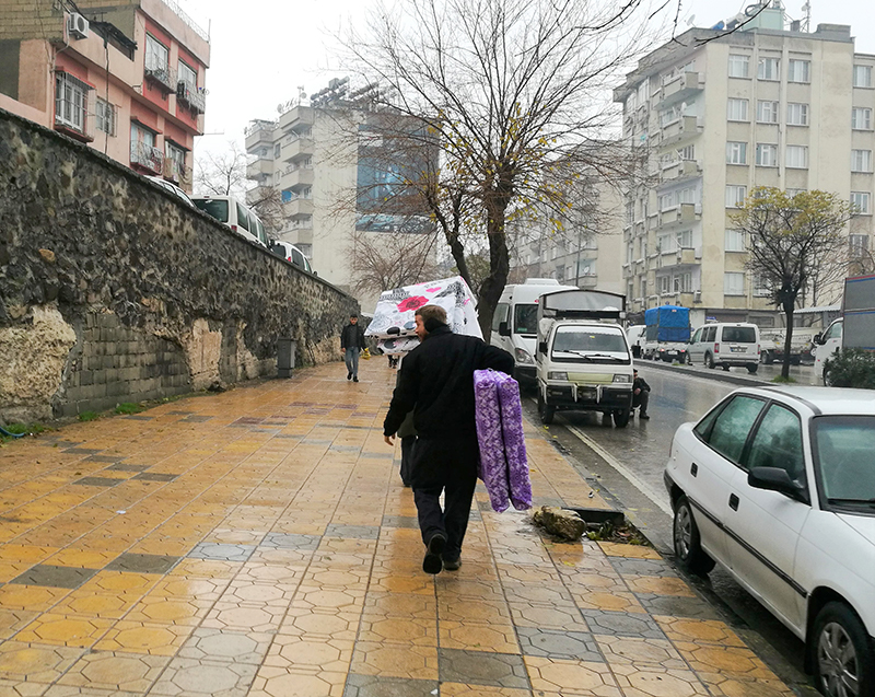 Winter aid for refugees in Turkey