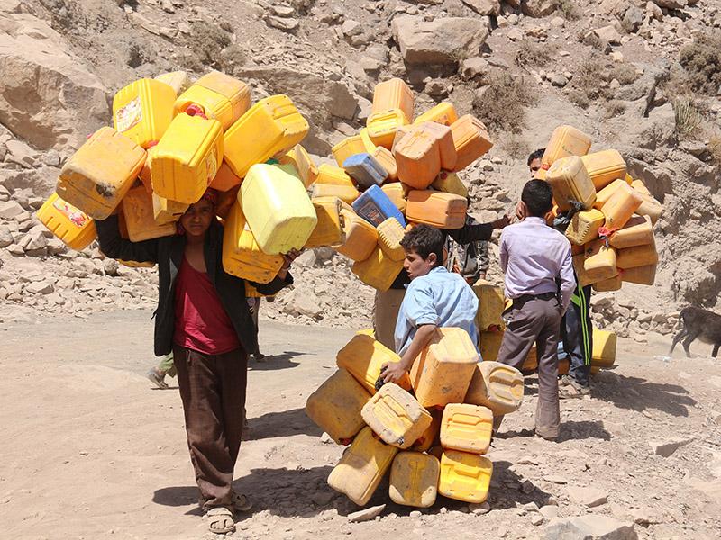 Hunger and desperation in war-torn Yemen