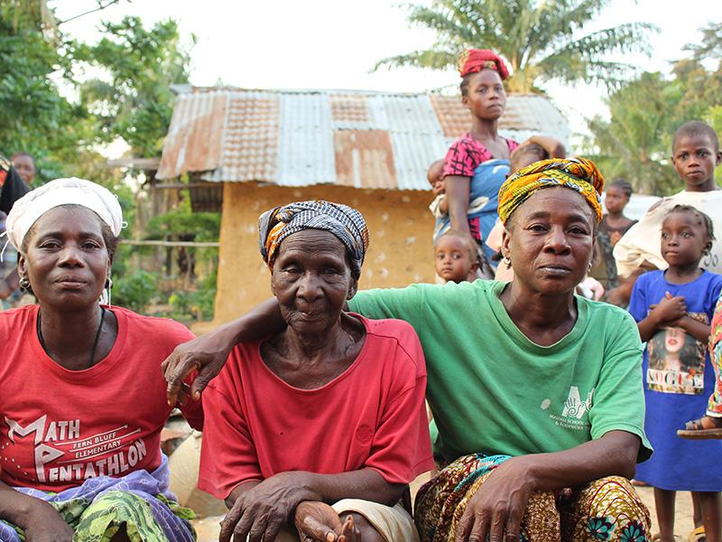 Hope for the needy in Liberia's bush