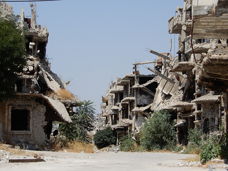 WAR IN SYRIA: Picking Up The Pieces