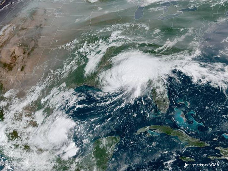 Hurricane Sally Makes Landfall in Alabama and Florida
