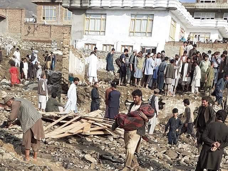 Devastating flood in Afghanistan
