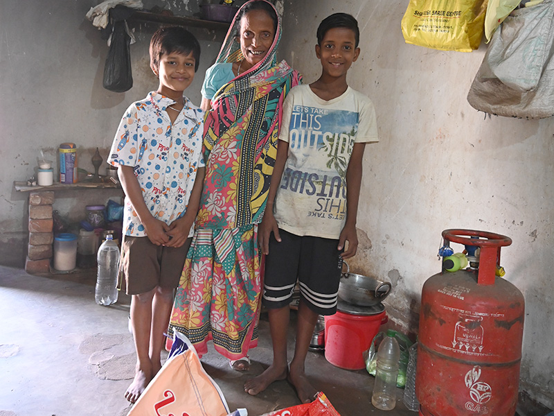 Hope for a rejected widow with leprosy