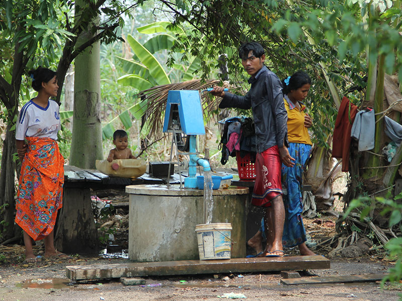 Children's Article: Clean water for families in Cambodia