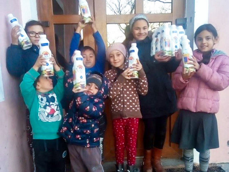 Children's Article: Delivering milk in villages of Romania
