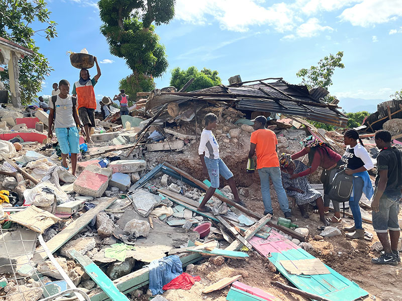 Haiti Earthquake Update: Needs and research continue