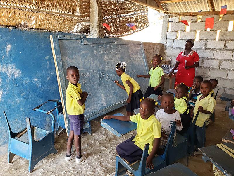 School: The life of Haitian children